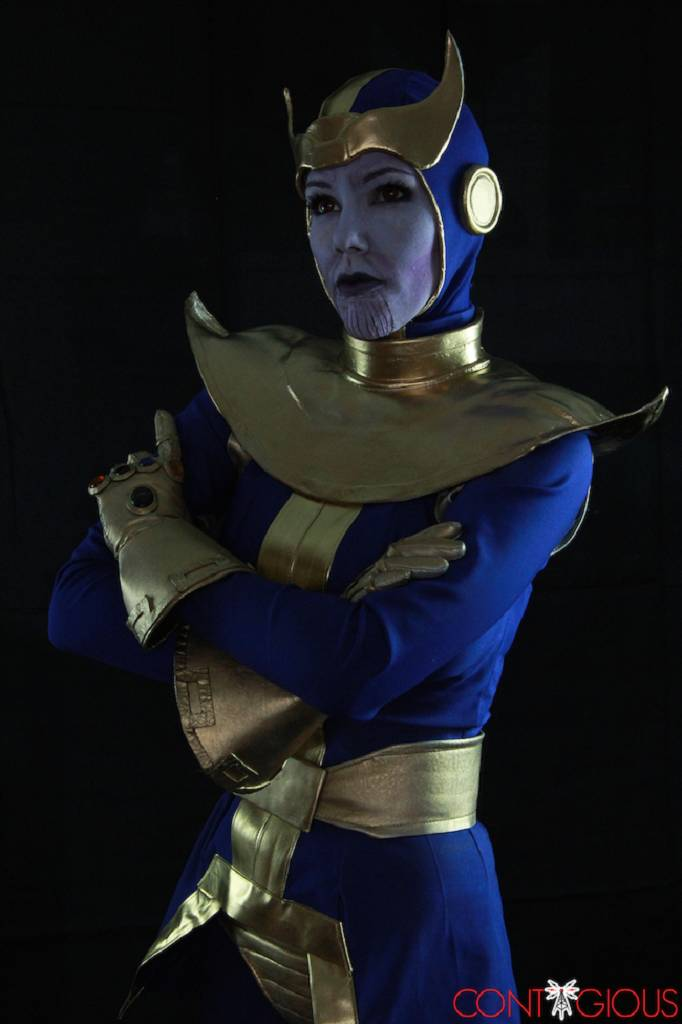 Rule 63 Thanos Cosplay By Contagious