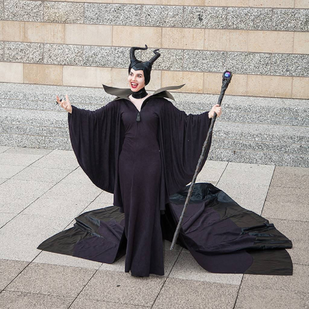 Maleficent Cosplay by Jo O' Hanley