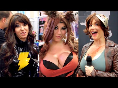 Cosplayer Geek Trivia Challenge: Comic-Con 2014 Edition
