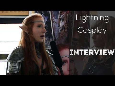 Lightning Cosplay Im Interview - Made In Japan