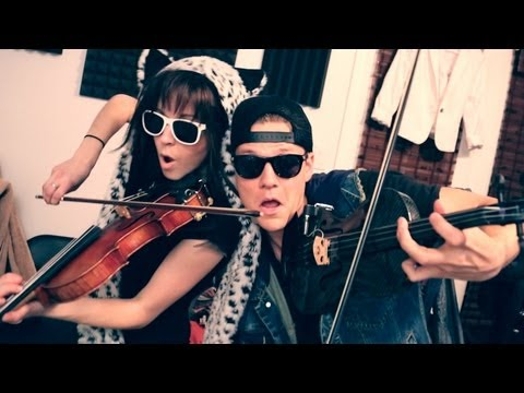 "Macklemore & Ryan Lewis  ""Thrift Shop"" feat. Wanz Cover by Lindsey Stirling"