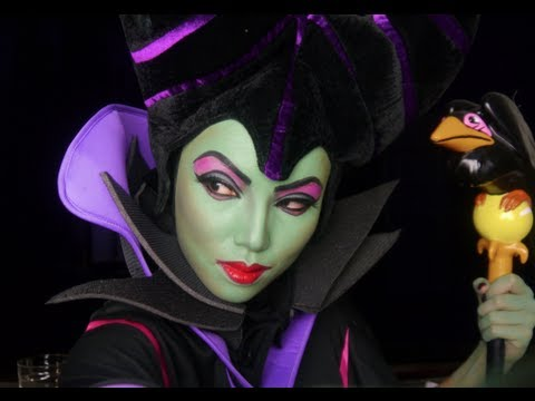 Maleficent Make-up Transformation