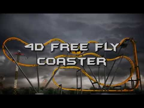 Batman: The Ride Coming - 4D Coaster
