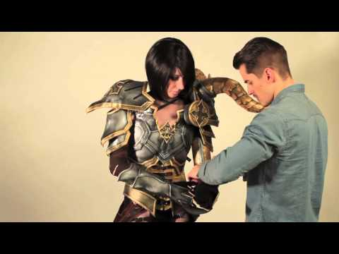 Cosplay Transformation -- Demon Hunter
