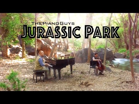 Jurassic Park Theme Song Cover by The Piano Guys