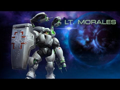 Heroes of The Storm – Lt. Morales
