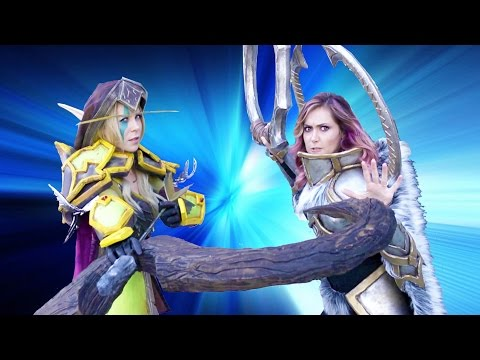 Cosplay Showdown - Jessica Chobot and Michele Morrow (BlizzCon 2015)