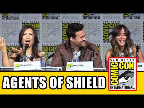 Agents of Shield - SDCC Panel