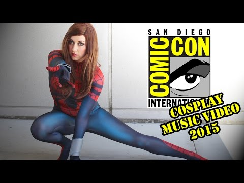 San Diego Comic Con - Cosplay Music Video