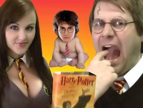 Magic Parody Harry Potter