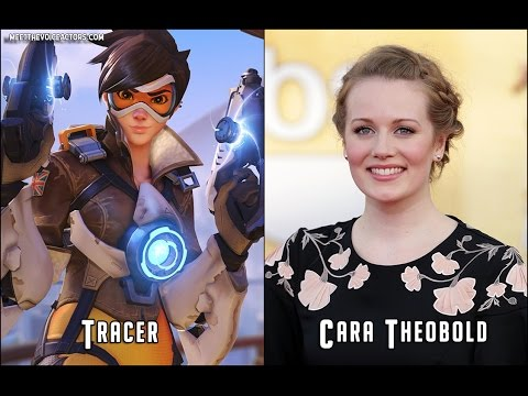 Overwatch Characters and Voice Actors