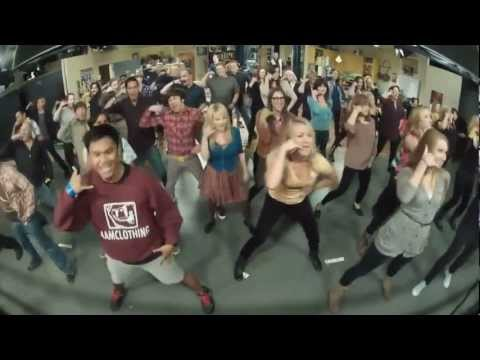 Call Me Maybe Parody/Flashmob @The Big Bang Theory