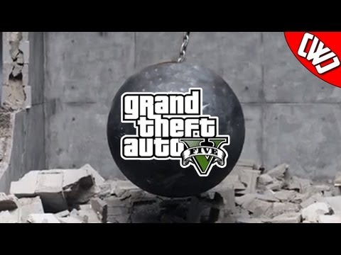 GTA V Parody of Wrecking Ball