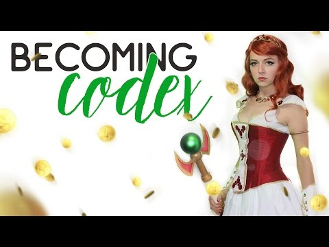 Becoming Codex Cosplay Transformation