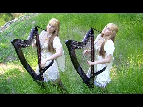 The Hobbit - Misty Mountains Cold (Electric Harp Duet)