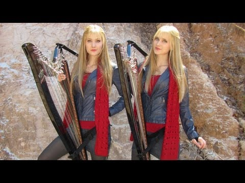 Doctor Who Theme (Harp Twins Electric)