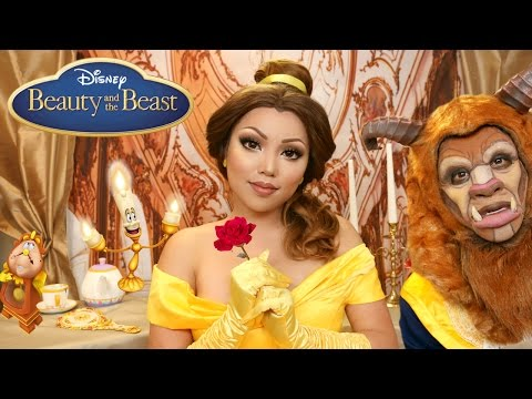 Beauty And The Beast Belle Makeup Tutorial