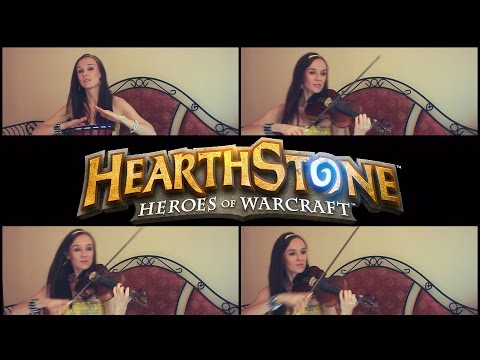 "Peter Mcconnell  ""Hearthstone Main Theme"" Cover by Anastasia Soina"