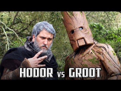 Hodor vs Groot Rap Battle