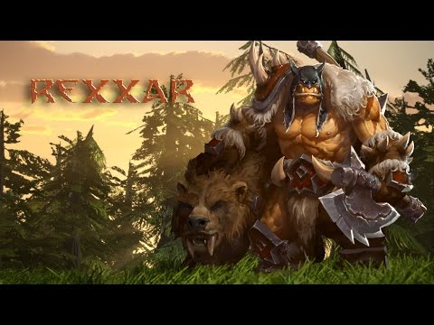 Heroes of The Storm – Rexxar