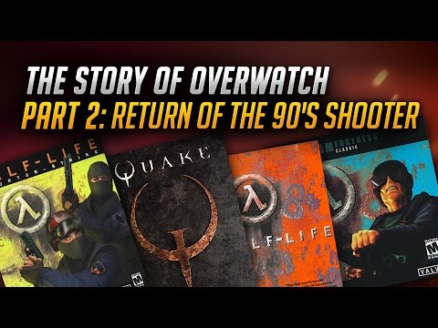 The Story of Overwatch: Return of the 90s Shooter