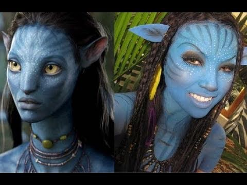 'Neytiri' Avatar Make-up Tutorial
