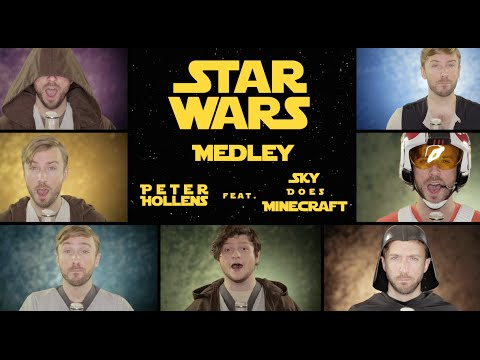 Star Wars Medley by Peter Hollens feat. Sky Does Minecraft