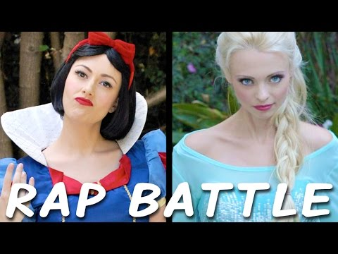 Snow White vs Elsa: Princess Rap Battle (Whitney Avalon Ft. Katja Glieson)