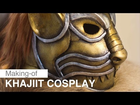 Laura Jansen: Khajiit Cosplay - Making Of