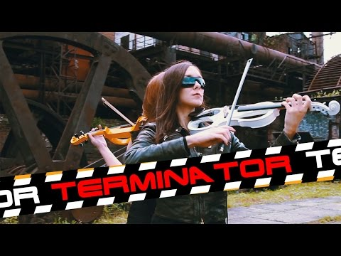 "Brad Fiedel  ""The Terminator Theme"" Cover by Anastasia Soina"