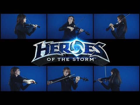 "Blizzard Entertainment  ""Heroes of the Storm - Main Theme"" Cover by Anastasia Soina"