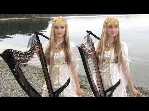 Into The West - Lord Of The Rings (Harp Cover)