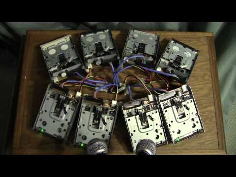 Theme From Doctor Who (On Floppy Drives)