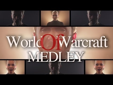 World Of Warcraft Acappella Medley by Peter Hollens feat, Evynne Hollens