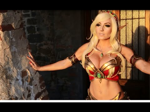 Blood Elf Priest Cosplay by Jessica Nigri