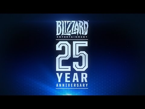 Celebrate 25 Years With Blizzard Entertainment