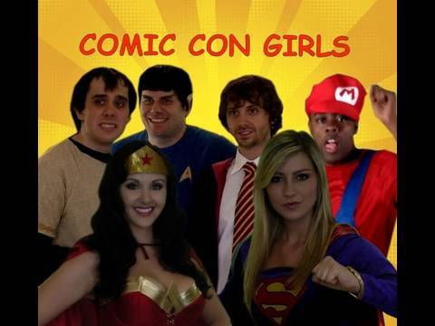 Comic Con Girls the Song!