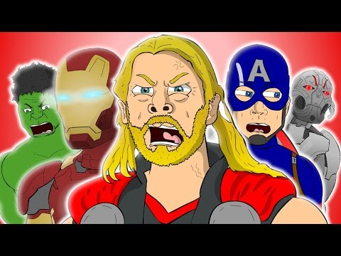 Avengers Age Of Ultron The Musical