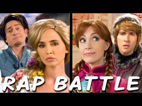 Rapunzel vs Anna: Princess Rap Battle