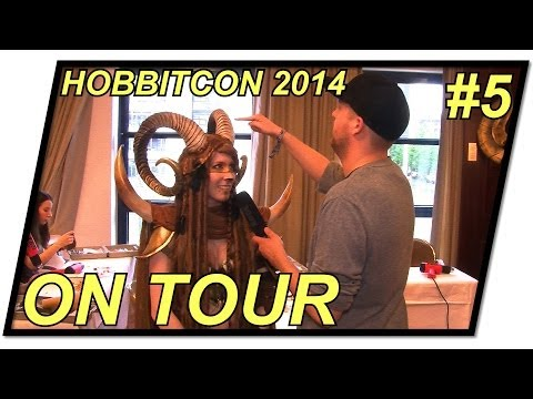 Hobbitcon 2014 | Cosplay Workshop bei Laura dem Faun