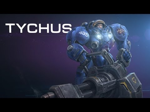 Heroes of the Storm - Tychus