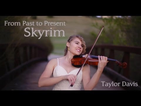 Skyrim - From Past To Present Cover by Taylor Davis
