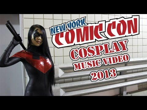 New York Comic Con 2013 - Cosplay Music Video