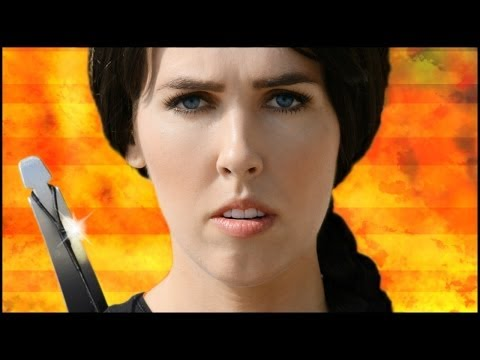 Wrecking Ball Catching Fire Parody