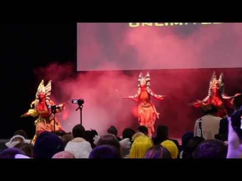 European Cosplay Gathering Qualification Opening Stunt Show