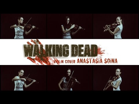 The Walking Dead Main Theme Cover by Anastasia Soina Violin