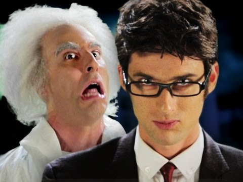 Doc Brown vs Doctor Who. Epic Rap Battles