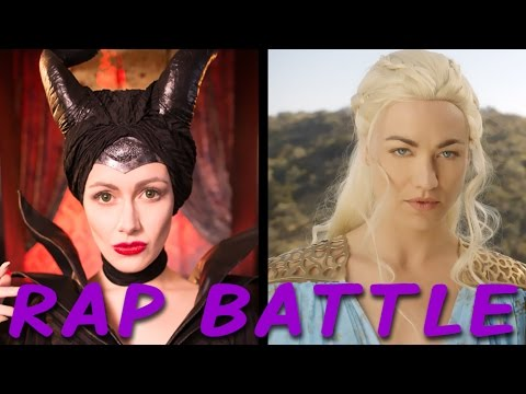 Maleficent vs. Daenerys: Princess Rap Battle