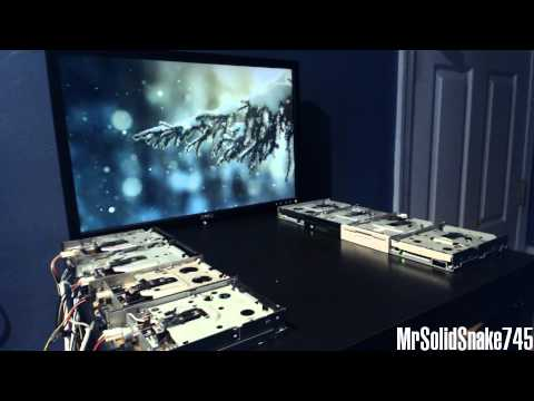 Carol Of The Bells On Eight Floppy Drives